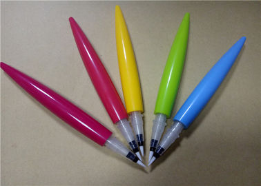 PP Plastic Liquid Eyeliner Pencil Packaging Any Color Chili Shape 125.3 * 8.7mm